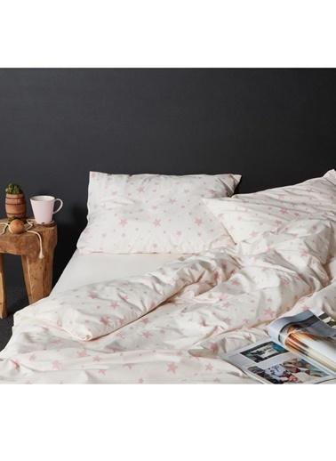 Hibboux 200x220 Star Nevresim + Yastık Kılıfı - W.Rose Renkli
